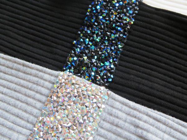 Glitter stripe headband by Shaina style's hair accessories